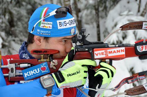 Weltcup-Sieg für den Südtiroler Biathleten Markus Windisch