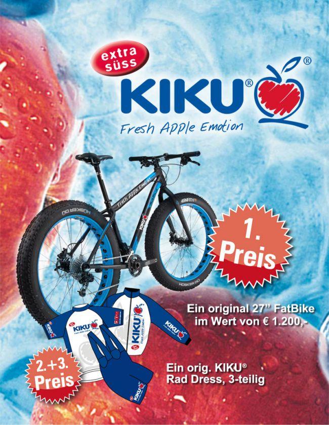 KIKU® Gewinnspiel Fatbike 2015